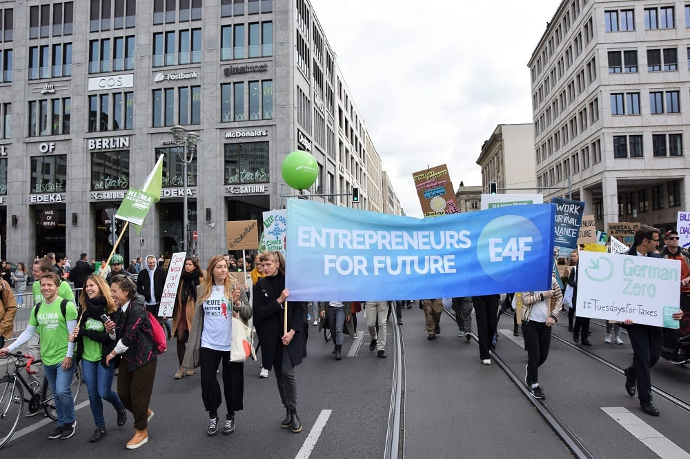 Globaler Klimastreik Proteste