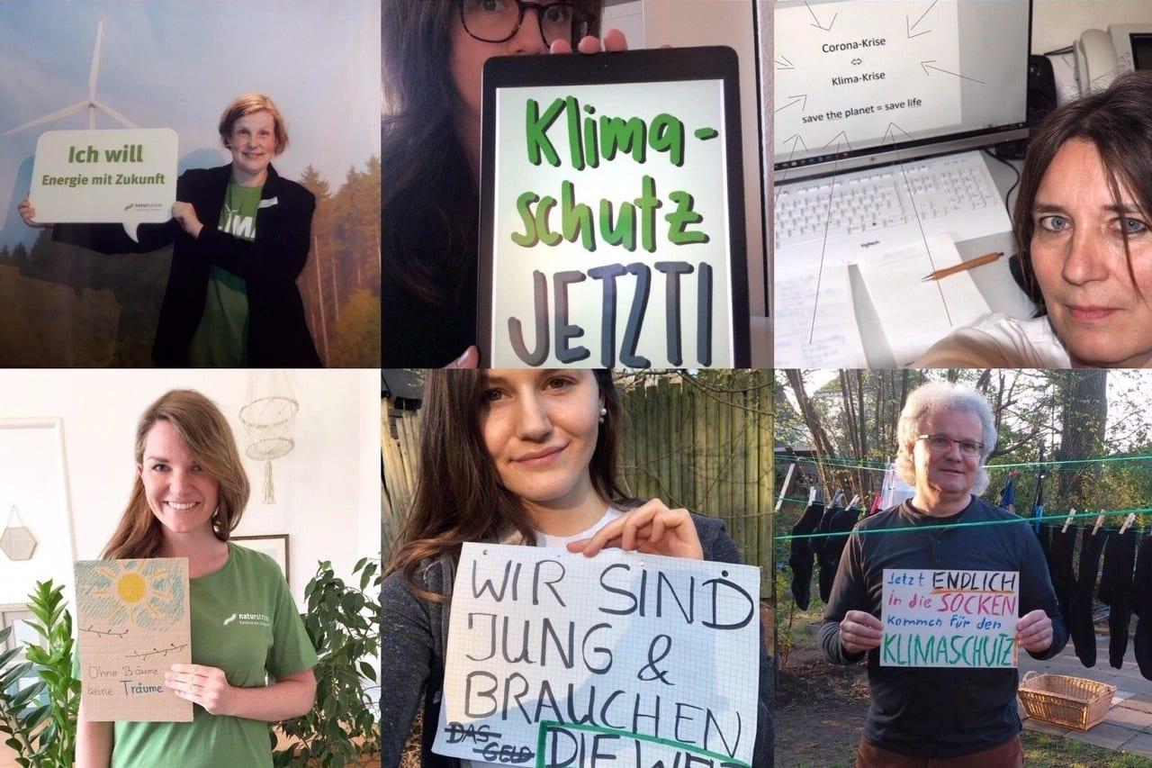 Netzstreik fürs Klima bei NATURSTROM