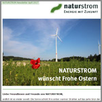 NATURSTROM-Newsletter April 2017