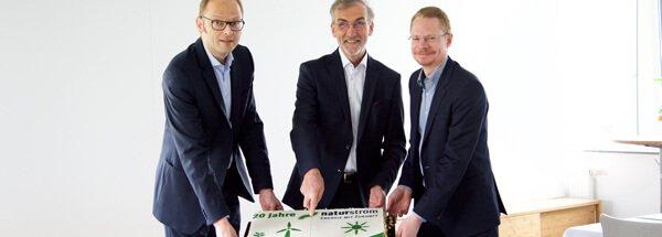 NATURSTROM feiert Geburtstag: 20 Jahre Einsatz für die Energiewende