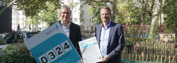 Kölner E-Lastenradsharing Donk-EE in die KlimaExpo.NRW aufgenommen