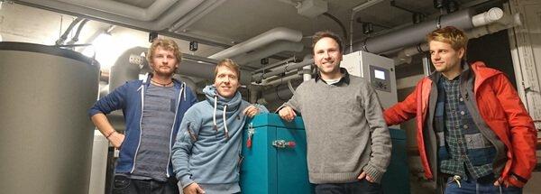 Umweltfreundliche Wärme mitten in der Stadt: NATURSTROM betreibt Energiezentrale von sozial-ökologischem Wohnprojekt
