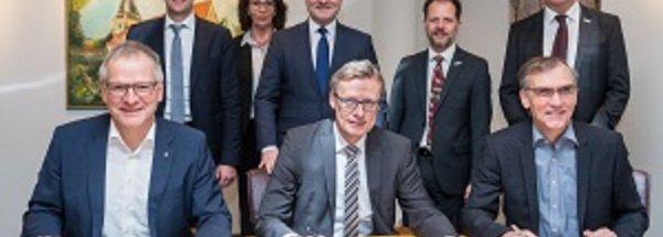 Stadtwerke Osnabrück und NATURSTROM künftige Partner der Gemeindewerke Wallenhorst