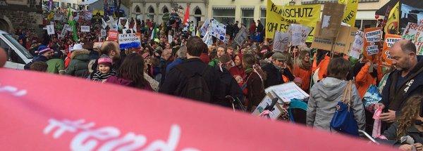 Demonstration in Bonn