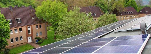 Die Sonne mieten? Solarstrom für Mehr-Generationen-Haus
