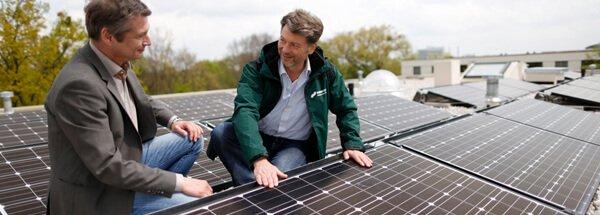 NATURSTROM realisiert Mieterstrom mit Energiegenossenschaft