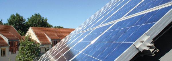 Dach-Solaranlage