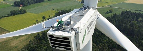 Frischer Wind im Landkreis Bamberg: Bürgerwindpark ist bislang größter NATURSTROM-Windpark
